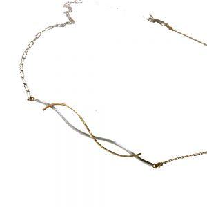 Corsa Contemporary Necklace