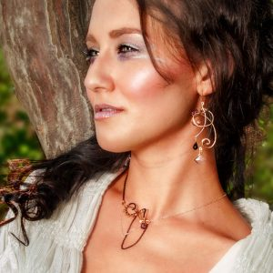 Alcina Earrings and Daina Necklace