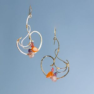 Nadia Bouvardia Large Earrings