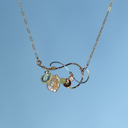 Nadia Blush Small Necklace
