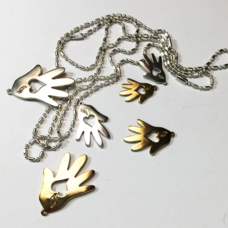 Helping Hands Pendant Chain Collection